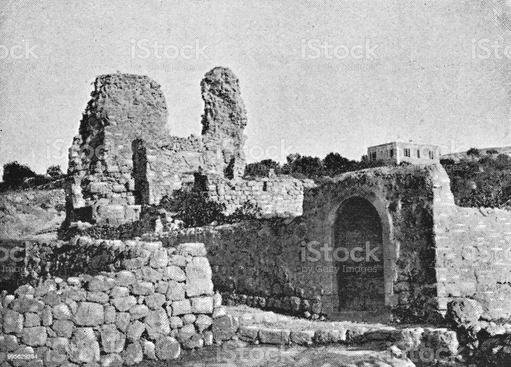 Home Of Lazarus Martha And Mary In Bethany Israel Ottoman