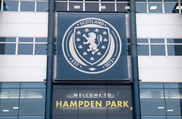 Home of Scottish football stock photo