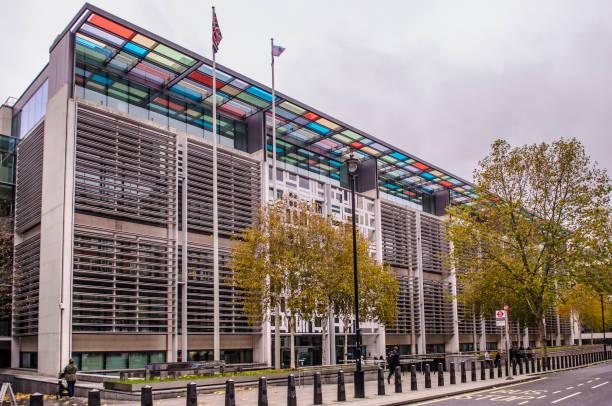 Edificio sede, Londres - foto de stock