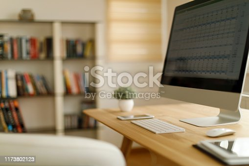 istock Home office 1173802123