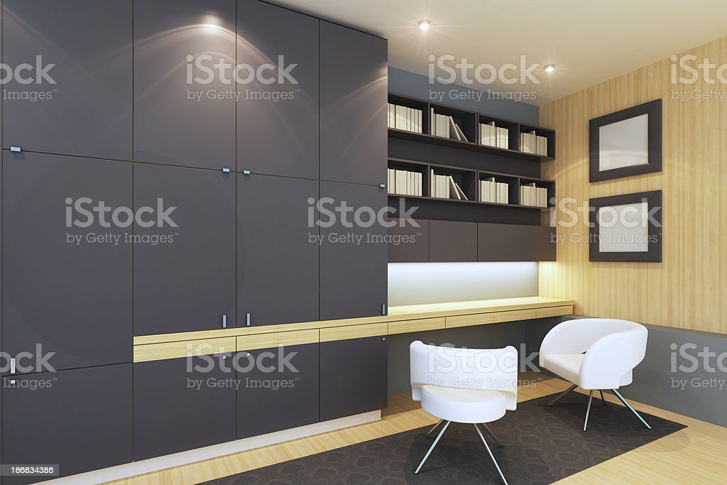 Home Office stock photo