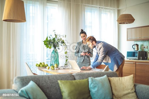 684006316istockphoto Home office 894618234