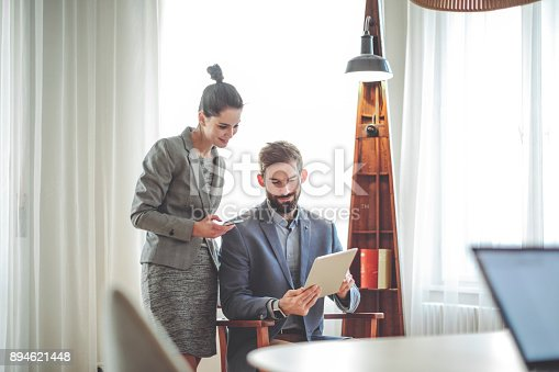 684006316istockphoto Home office 894621448