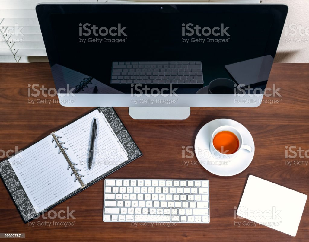 Home office - Royalty-free Address Book Stock Photo