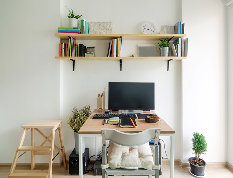 Home office working space