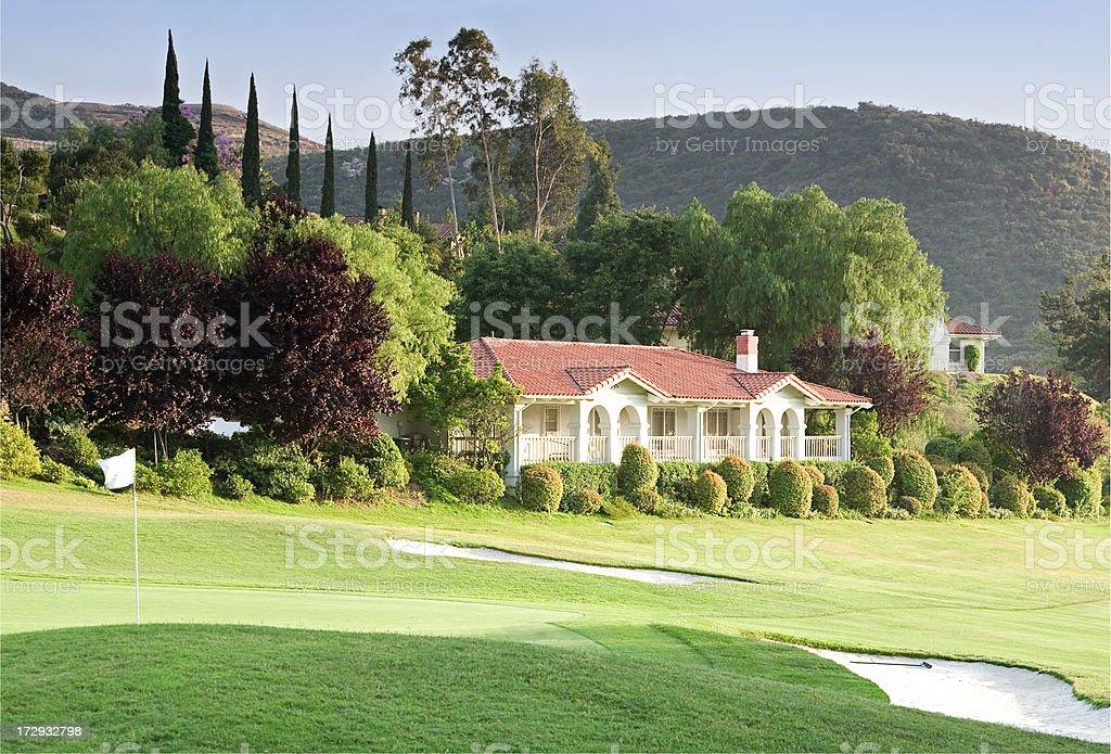 Auf dem Golfplatz zuhause – Foto