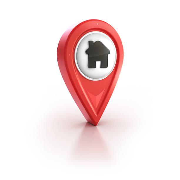 hause pin oder house hotel - pictafolio stock-fotos und bilder