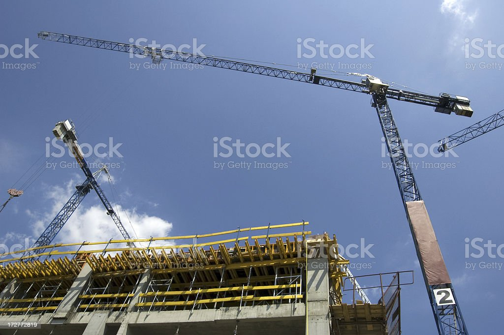 Home or Office building constuction royalty-free stock photo