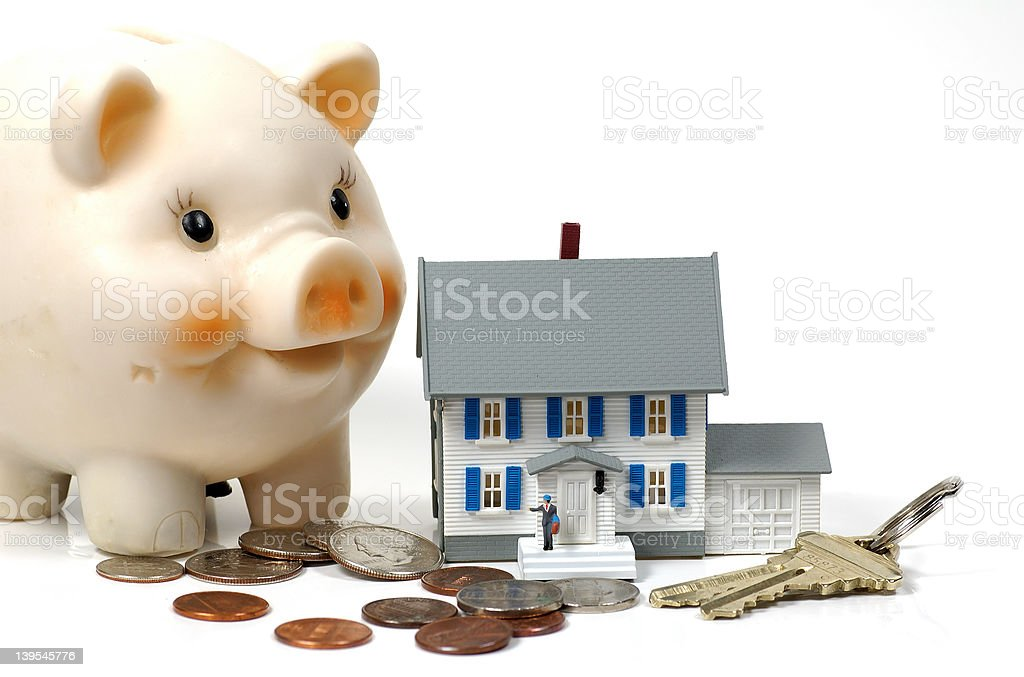 Home Ownership royalty-free stock photo