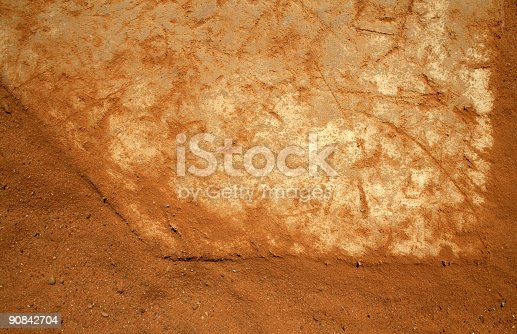 istock Home Plate 90842704