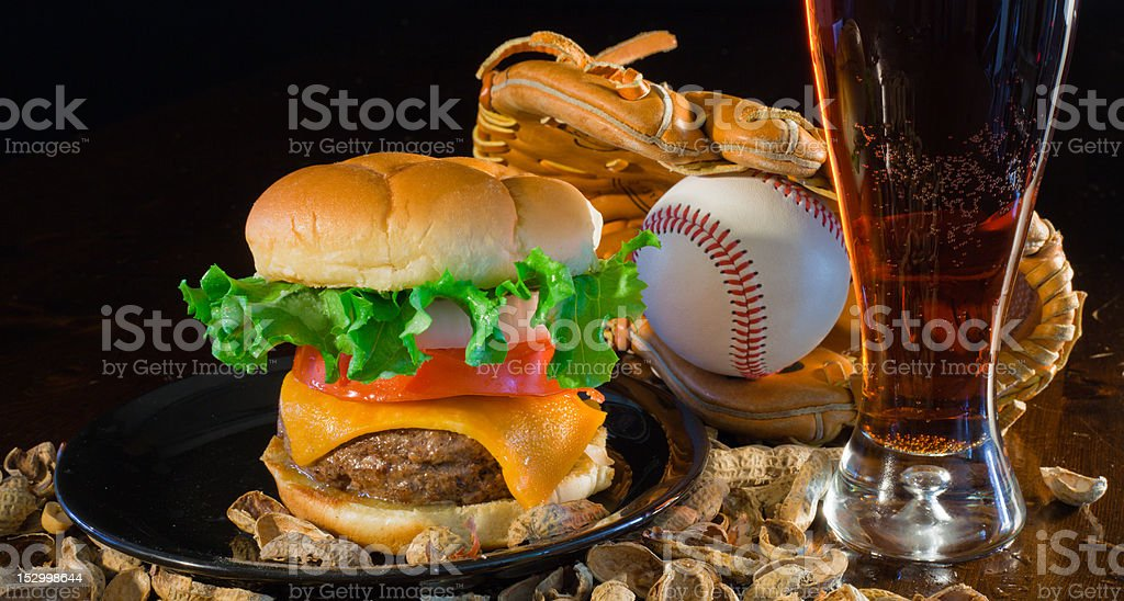 Home Plate Special stock photo