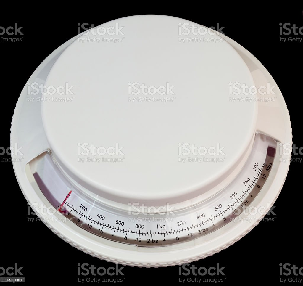 Home Postage Scale stock photo