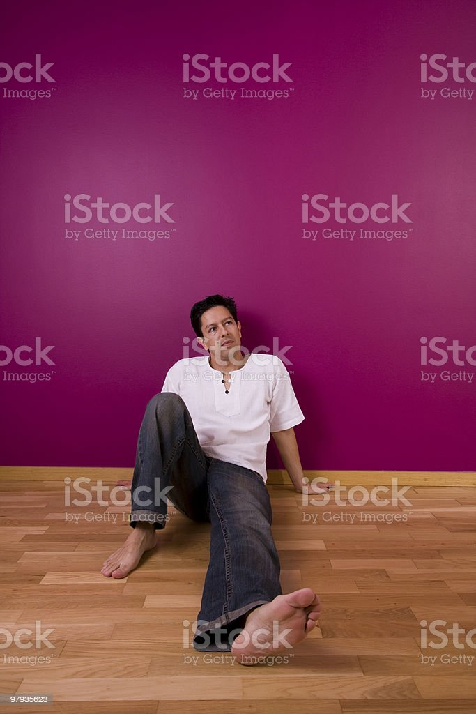 Home relax royalty-free stock photo