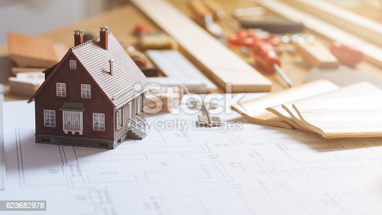 istock Home renovation and construction 623682978