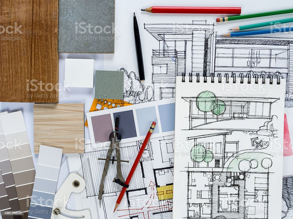 Home renovation and  decoration concept stock photo