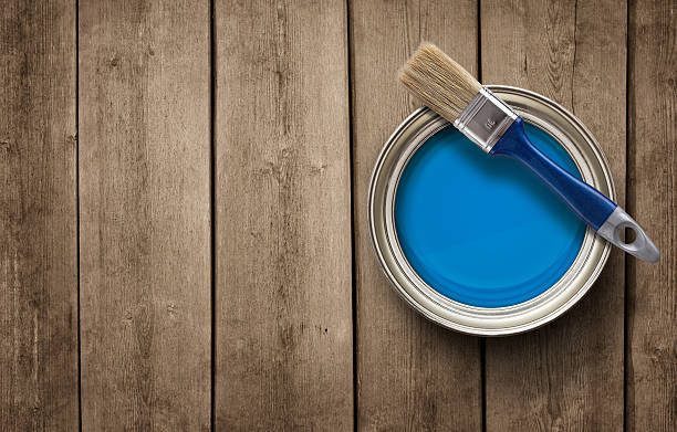 Home renovation background stock photo