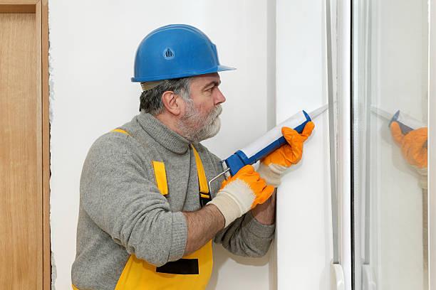 Home Renovierung, Abdichtungs- mit Silikon – Foto