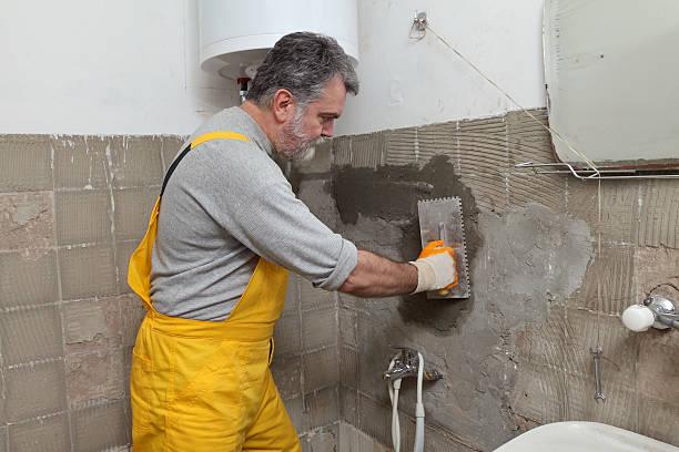 Home Renovierung, mason-Fixierung wall – Foto