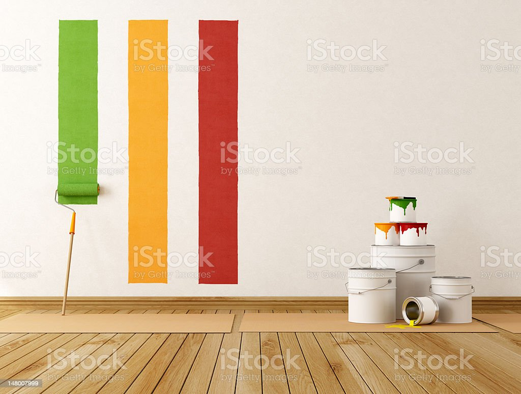 Home renovation stock photo