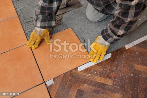 istock Home renovation, tiles 187149518