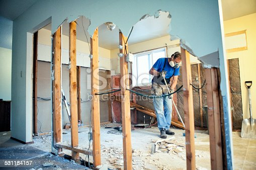 473158422 istock photo Home Renovations - Tear Out 531184157