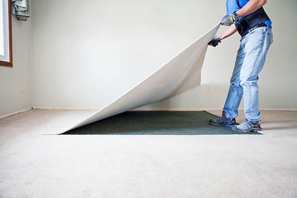 Home Renovierung-Zerreißen Out Teppich – Foto
