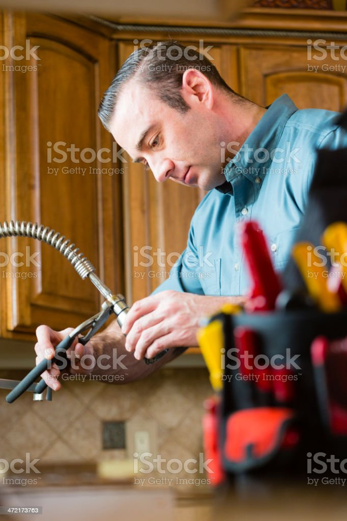 Home Repairman royalty-free stock photo