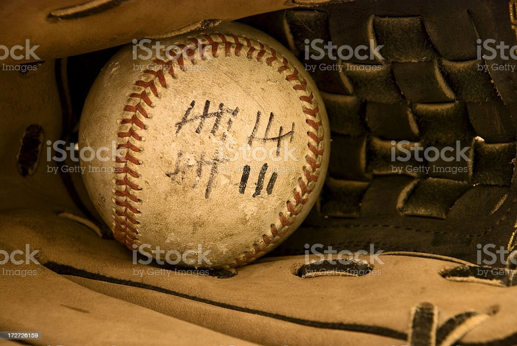 home run ball royalty-free stock photo
