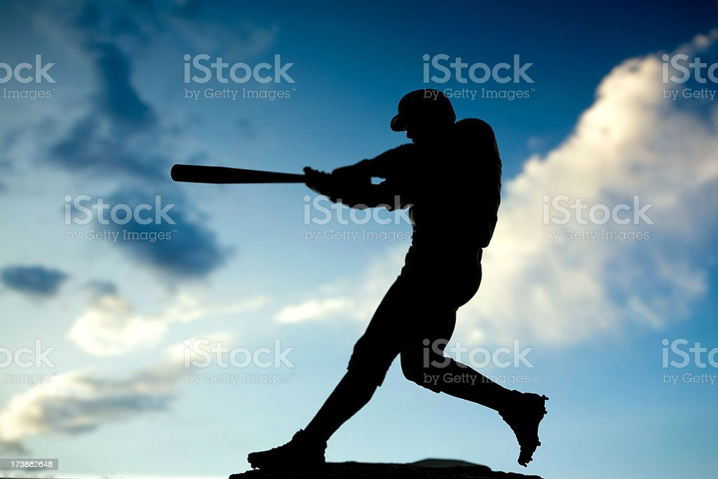 Home run stock photo
