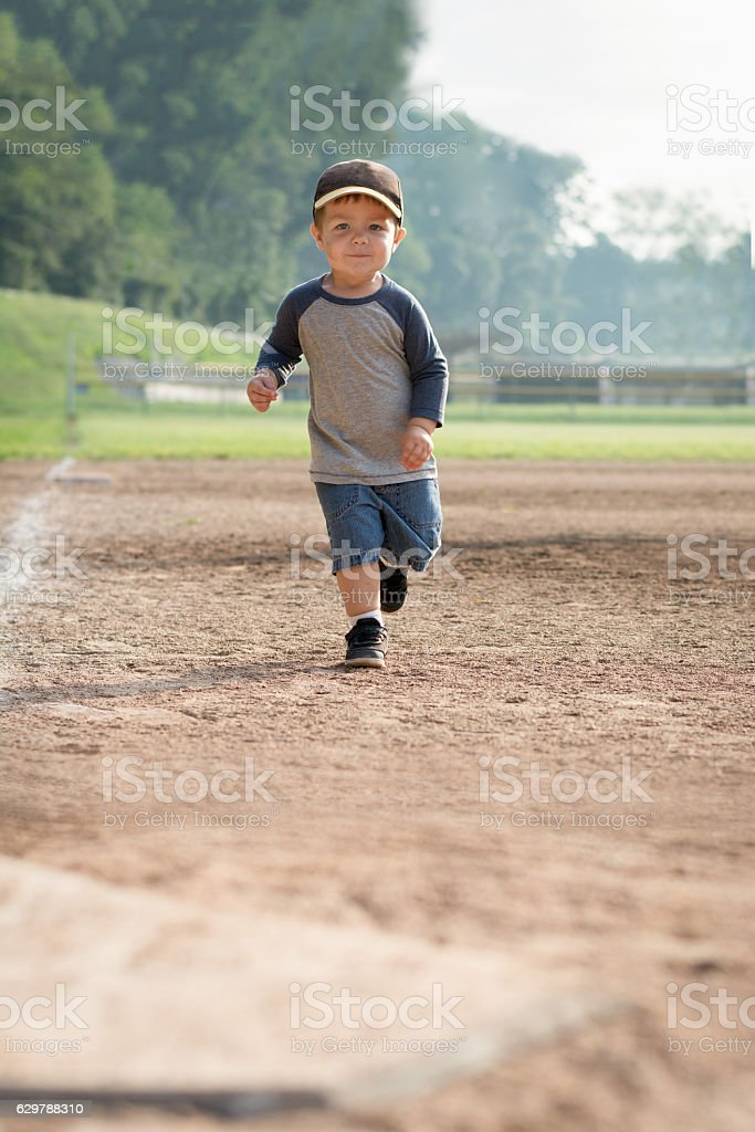 home run stock photo