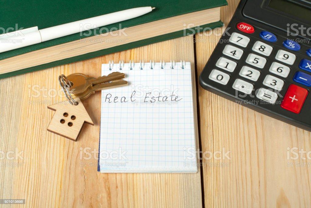 home savings budget financial and property concept model house keys
