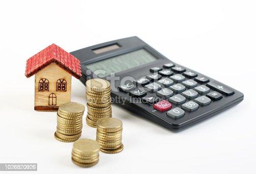istock Home savings 1026820926