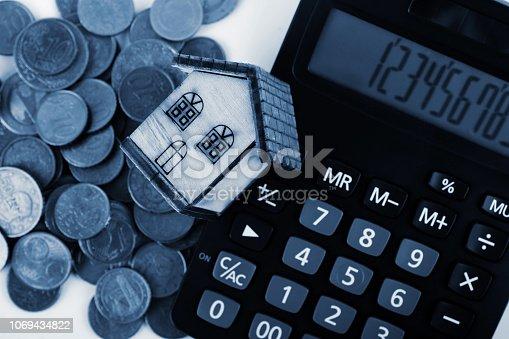 istock Home savings 1069434822