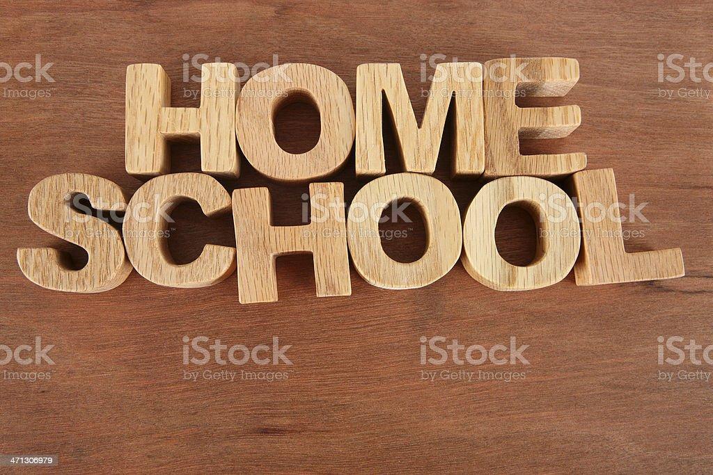 Home School royalty-free stock photo