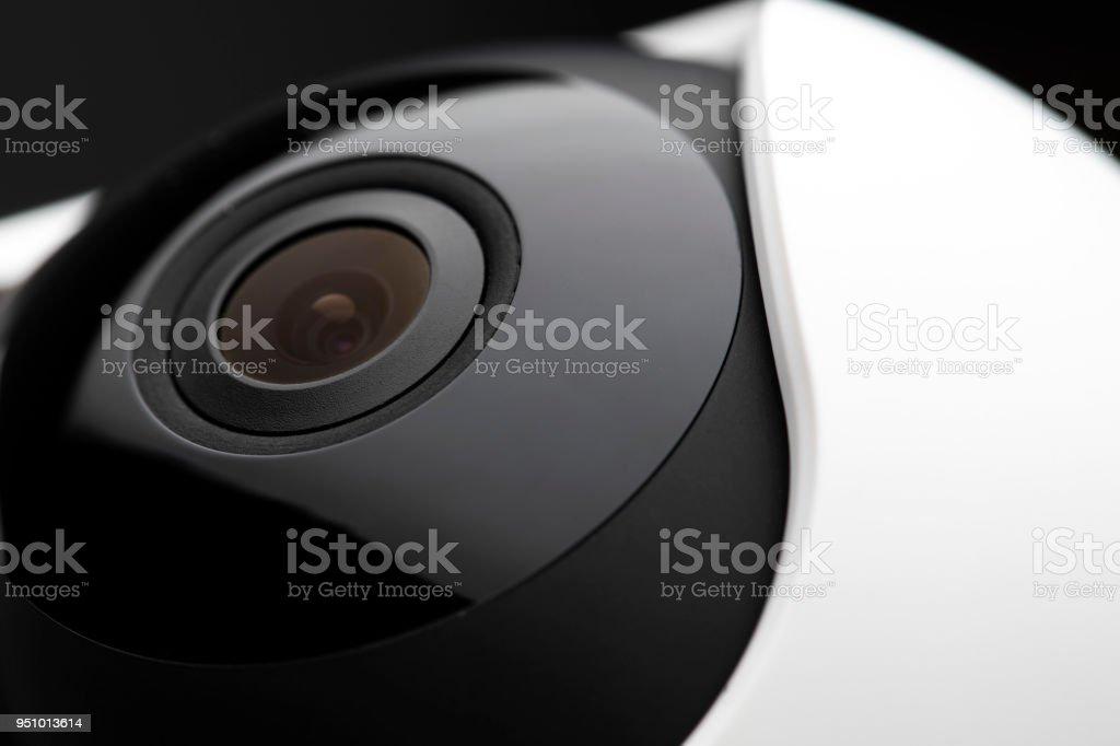 Home security camera stock photo