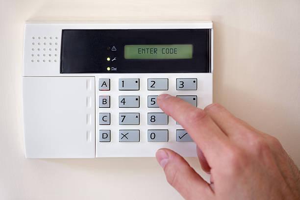 home security - alarm, home, stockfoto's en -beelden