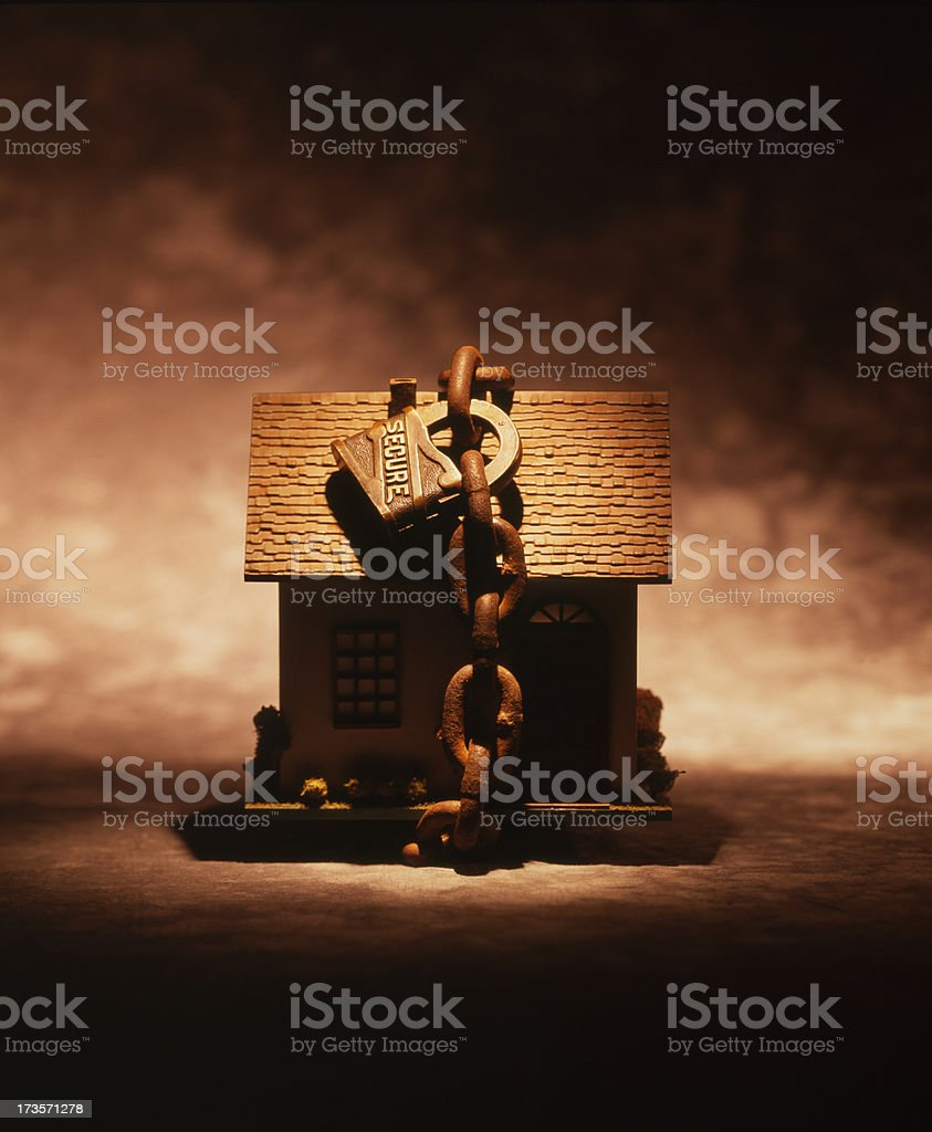 Home Security royalty-free stock photo