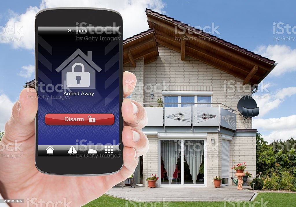 Home Security stock photo