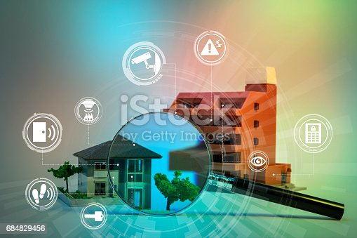istock home security system abstract image visual 684829456
