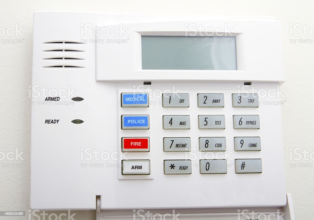 Home Security System stock photo