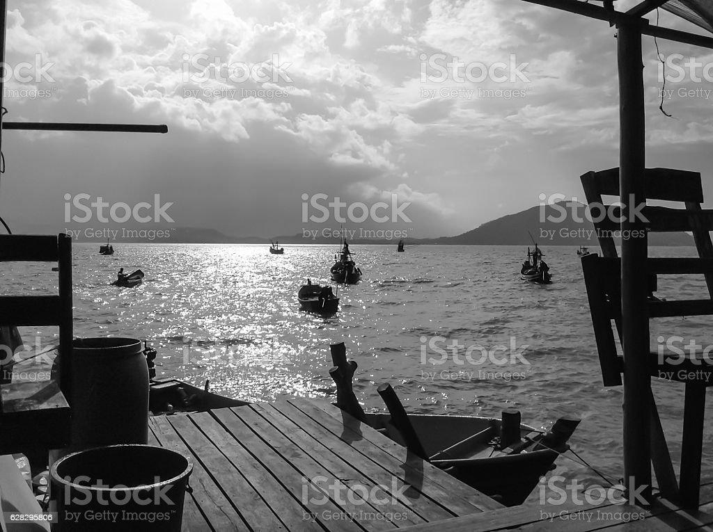 Home Stay at Fisherman village - foto de acervo