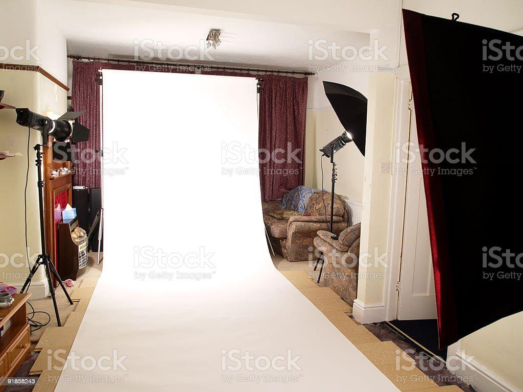 Home Studio royalty-free stock photo