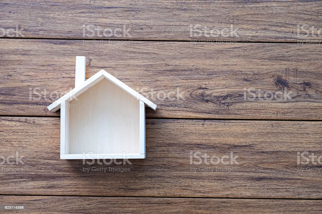 Home sweet home copy space Handmade home Shaped symbol house stock photo