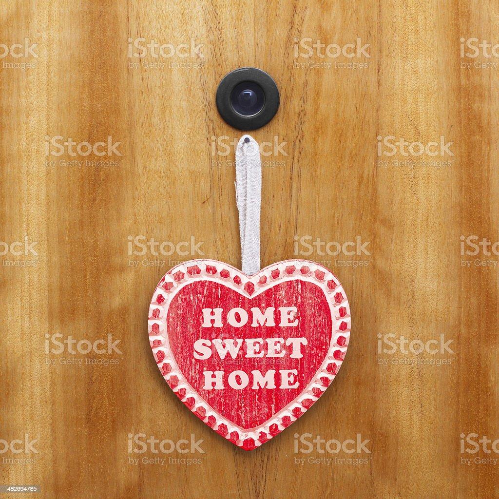 Home sweet home stock photo