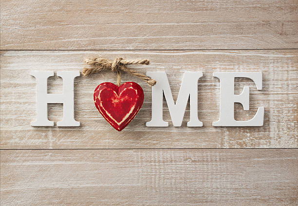 home sweet home - motto stock-fotos und bilder