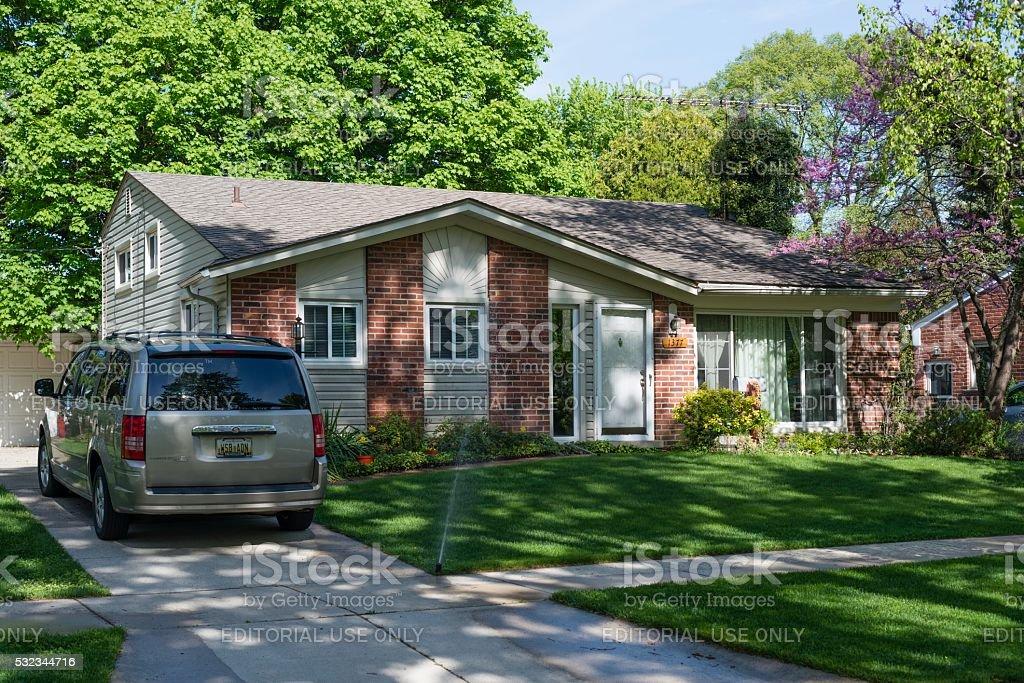 Home Sweet Home, le rêve américain à Rochester, dans le Michigan - Photo