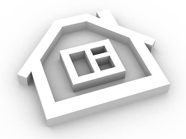 Home symbol stock photo
