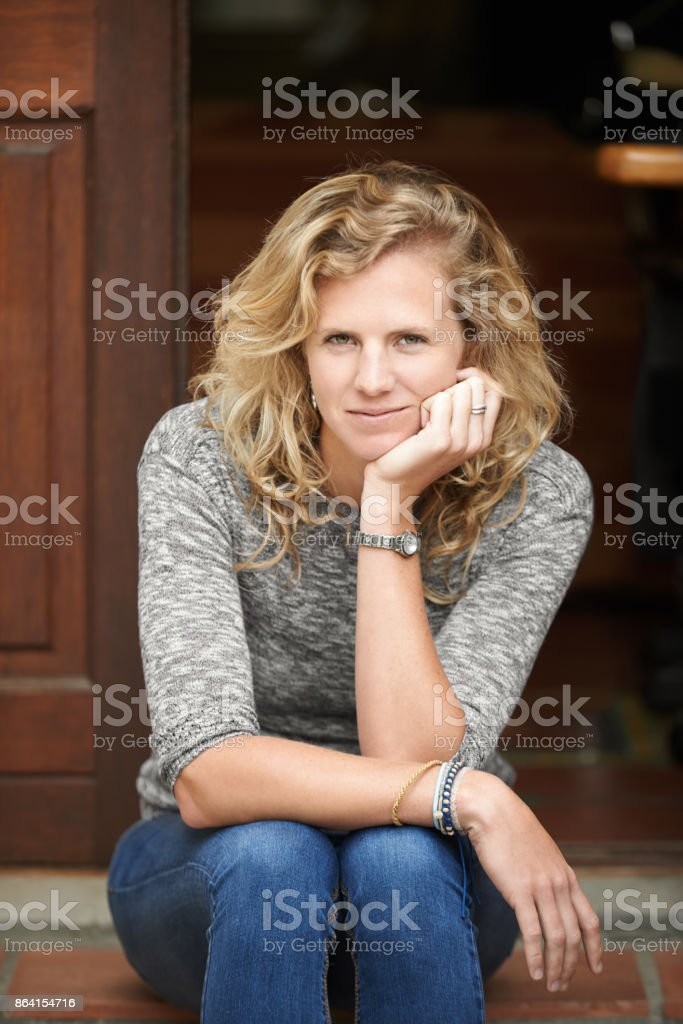 Home - there really is no place like it royalty-free stock photo
