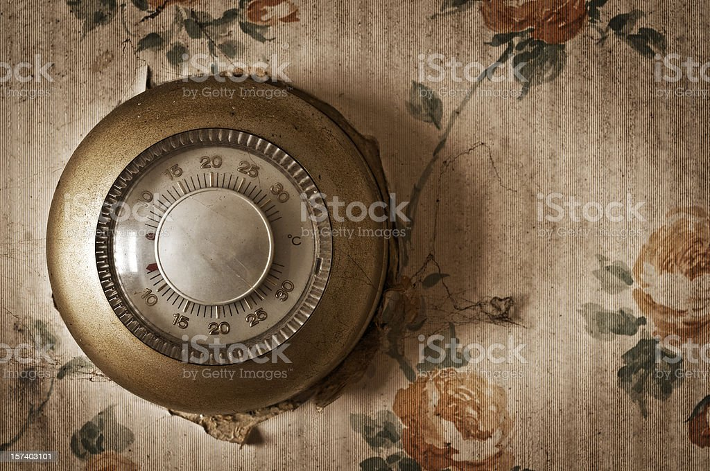 Home Thermostat royalty-free stock photo