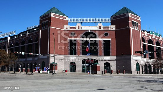 The Home to the Texas Rangers, Globe Life Park in Arlington